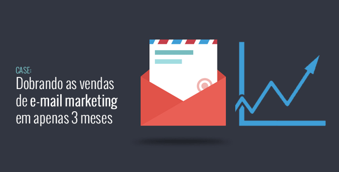 Dobrando as Vendas de E-mail Marketing em 3 meses